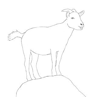 320x320 How To Draw A Goat Goats, You Ve And Outdoors