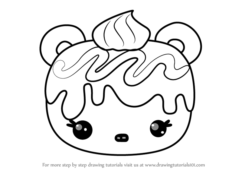 800x567 Learn How To Draw Wanda Wildberry From Num Noms (Num Noms) Step By