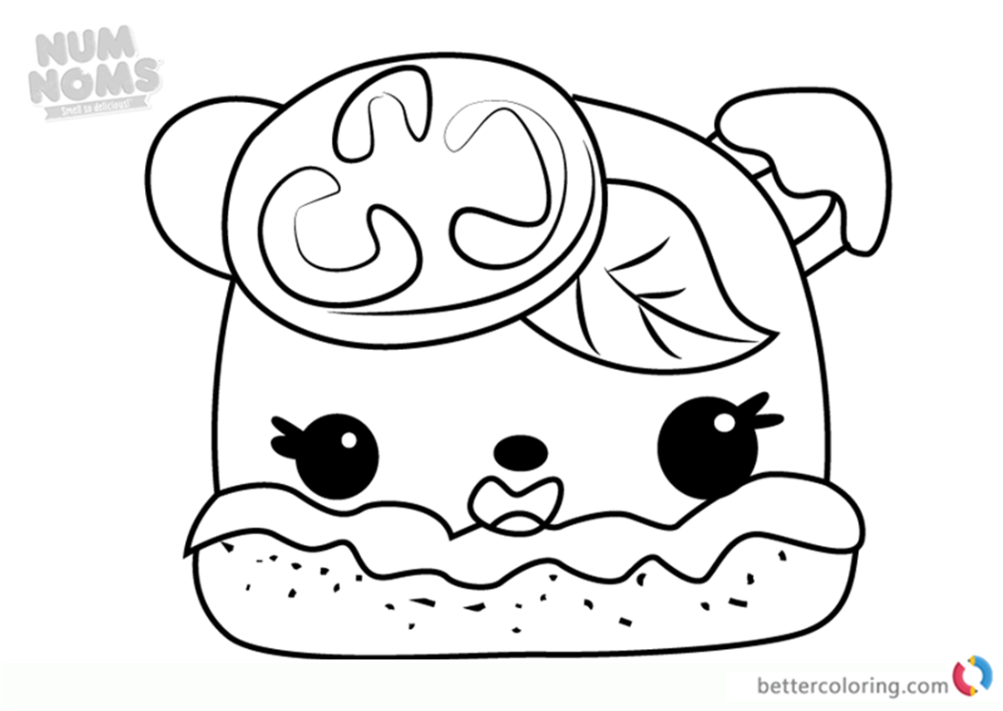 Num Noms Drawing At Getdrawingscom Free For Personal Use Num Noms