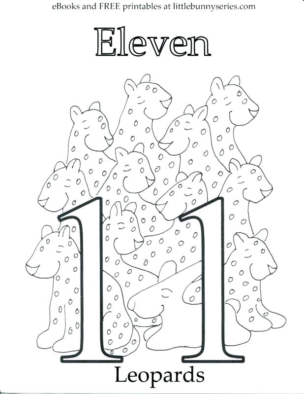 Number 1 drawing at free for personal for Number 11 coloring page