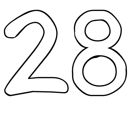 Number 13 Drawing At Getdrawings Com Free For Personal Use Number