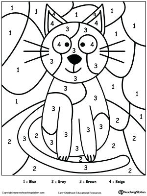 300x400 numbers coloring numbers coloring page number 3 coloring pages for - Numbers Coloring Pages
