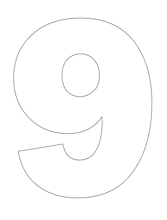 Number 9 Drawing at GetDrawings.com | Free for personal use Number 9 ...