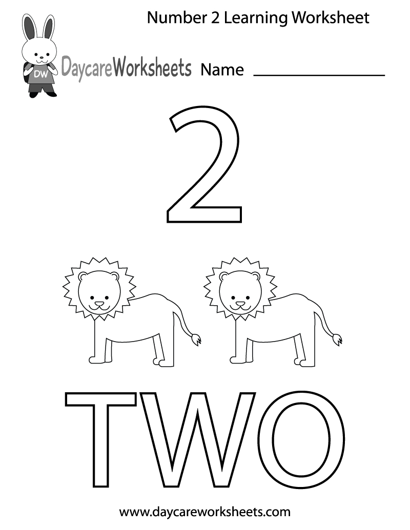 Numbers Worksheet Drawing At Getdrawingscom  Free For Personal Use  X Preschool Numbers Worksheets