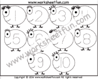 200x161 Tracing Number Tracing Free Printable Worksheets Worksheetfun