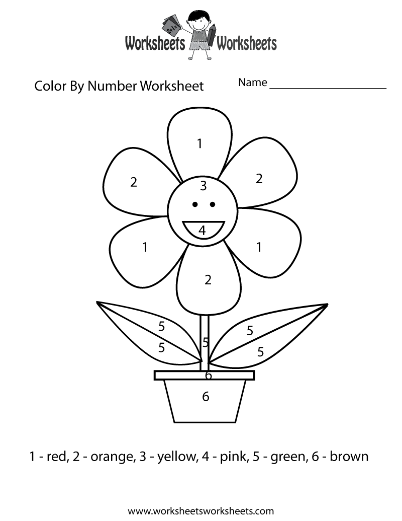 Numbers worksheet drawing at getdrawings free for personal use 800x1035 easy color by number worksheet