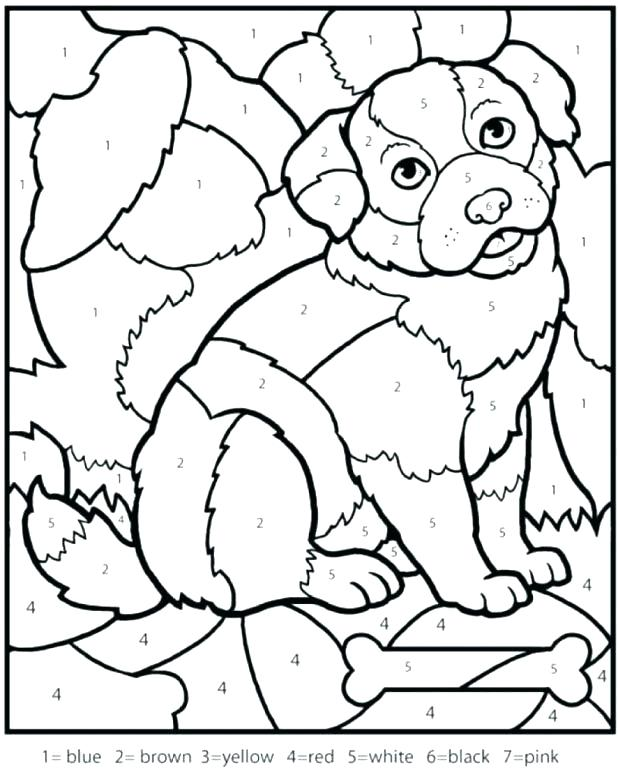 618x777 Coloring Math Sheets Math Worksheets Color By Number Download
