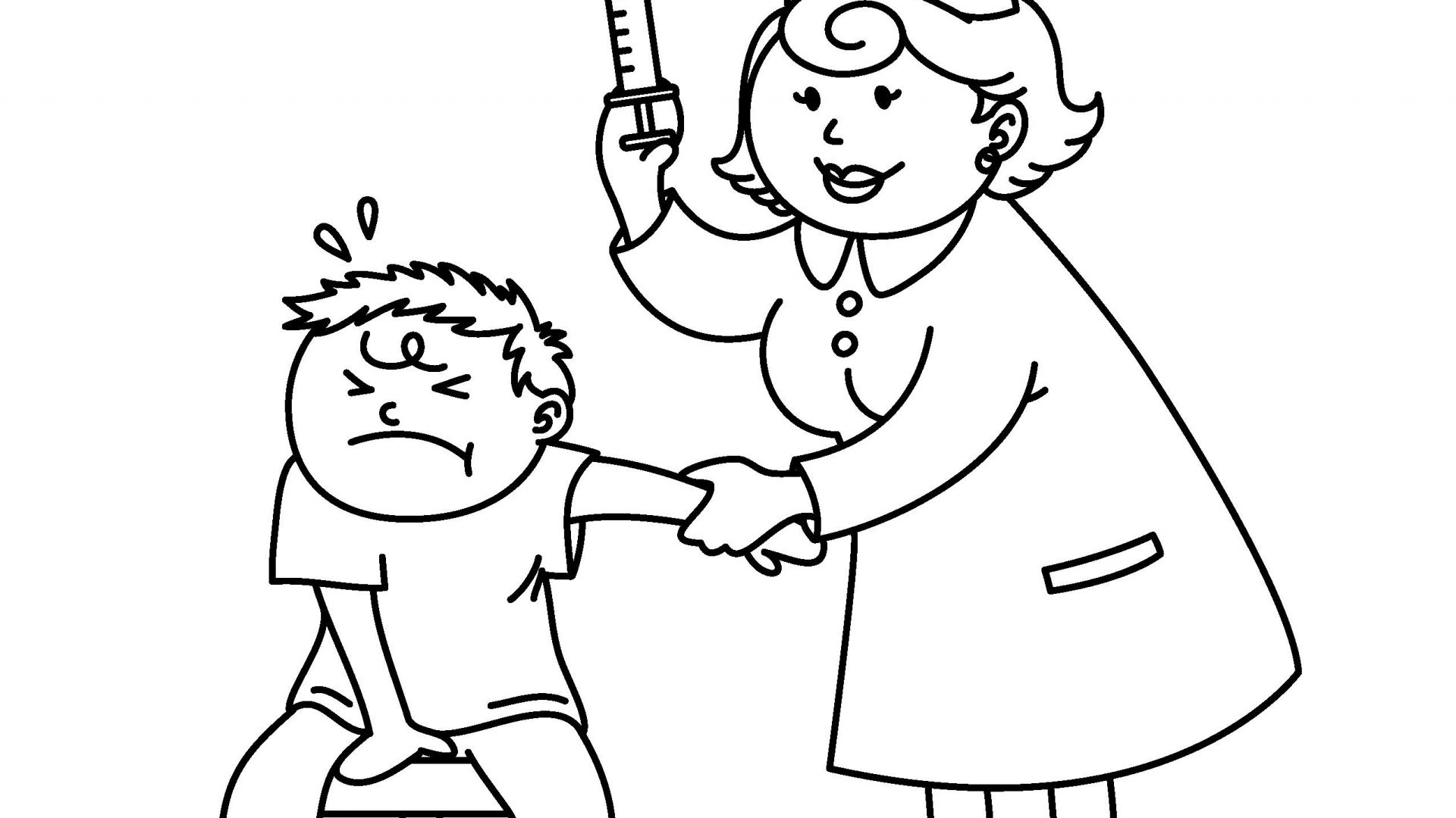 Line Drawing Nurse : Nurse cartoon drawing at getdrawings free for