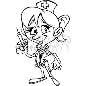 nurse cartoon drawing at getdrawings com free for personal use rh getdrawings com doctor and nurse clipart black and white doctor and nurse clipart black and white