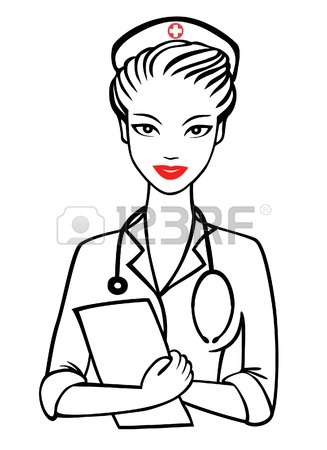 327x450 Vector Nurse With Smile Royalty Free Cliparts, Vectors, And Stock