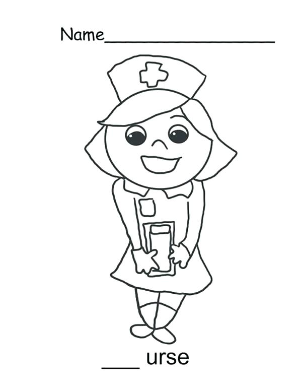 600x776 Cool Nurse Coloring Pages Crayola Photos Well Vector
