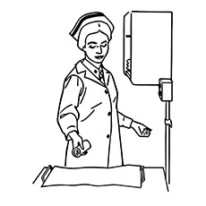 Nurse Drawing At Getdrawings Com Free For Personal Use Nurse