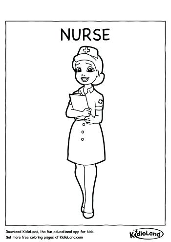 350x495 Nurse Coloring Pages How To Draw A Nurse Coloring Page Nurse