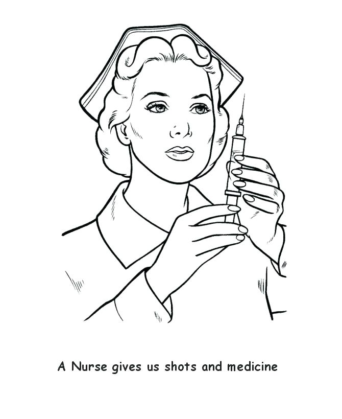 670x820 Nurse Coloring Pictures Doctors And Nurses Working Together Doctor