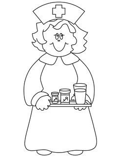 Nurse Drawing For Kids at GetDrawings.com | Free for personal use ...