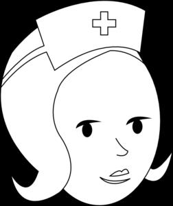 252x300 Nurse Outline Clip Art