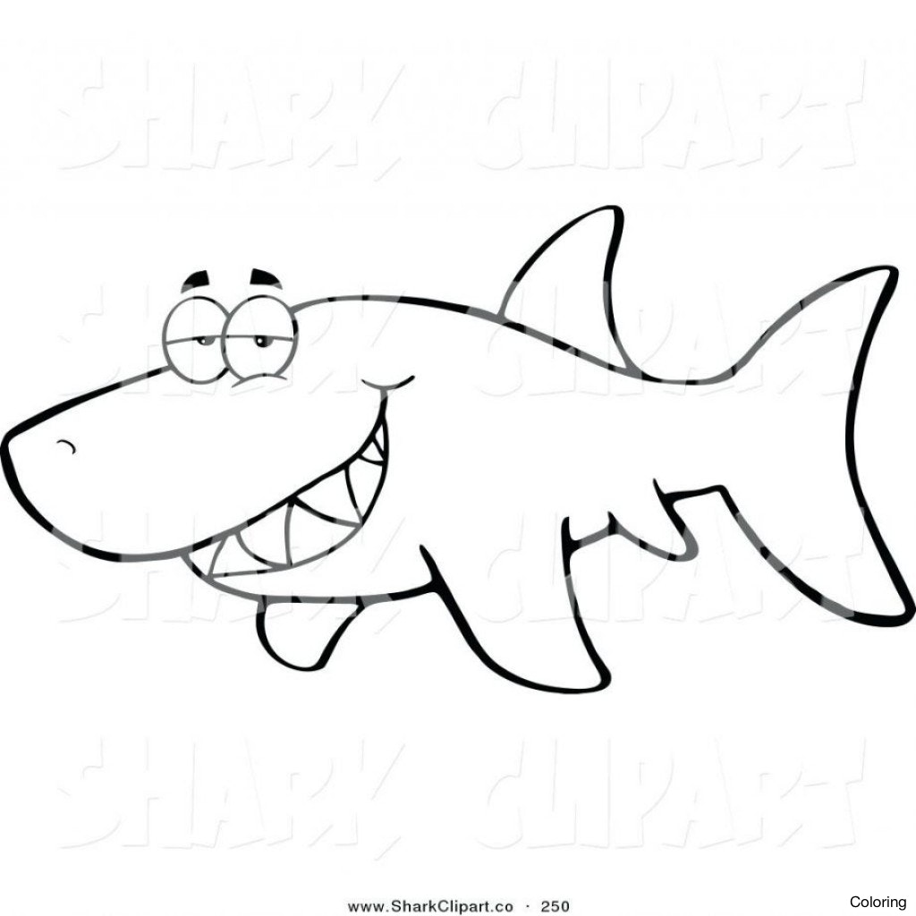 1024x1024 Sharks Coloring Pages Printable Shark To Print Manuals Guide 4f