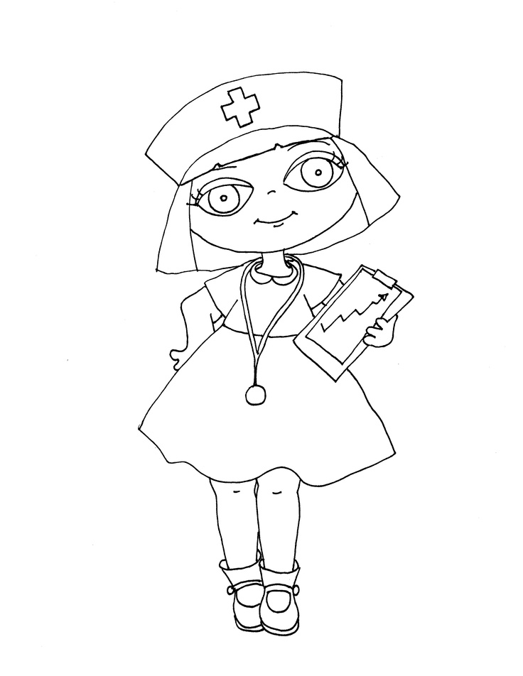 Nurses Drawing At Getdrawings Com