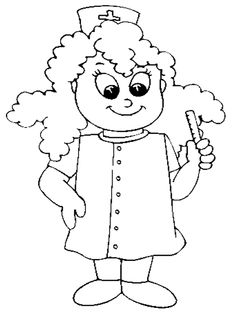 236x332 Nurse Printable Coloring Pages Nursing