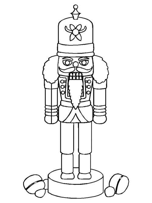 500x667 Free Nutcracker Coloring Pages