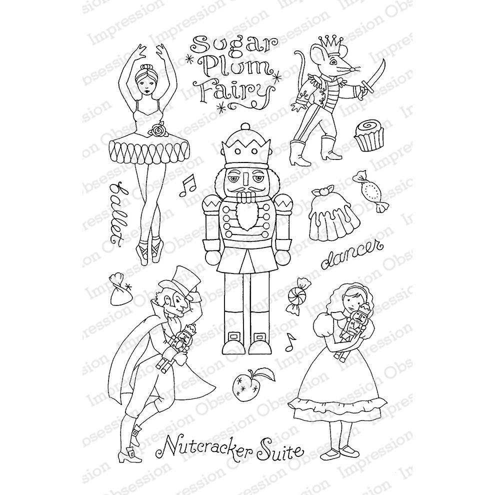 990x990 Impression Obsession Clear Stamps, Nutcracker Sweets By Pink Ink
