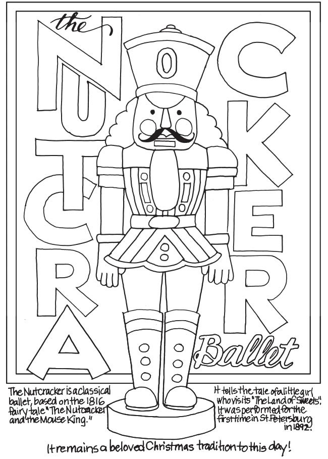 650x909 Coloring Pages Nutcracker Coloring Pages Nutcrackerpage Jpg