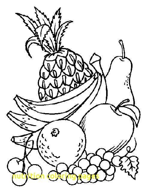 487x643 Nutrition Coloring Pages With 41 Best Nutrition Coloring Pages