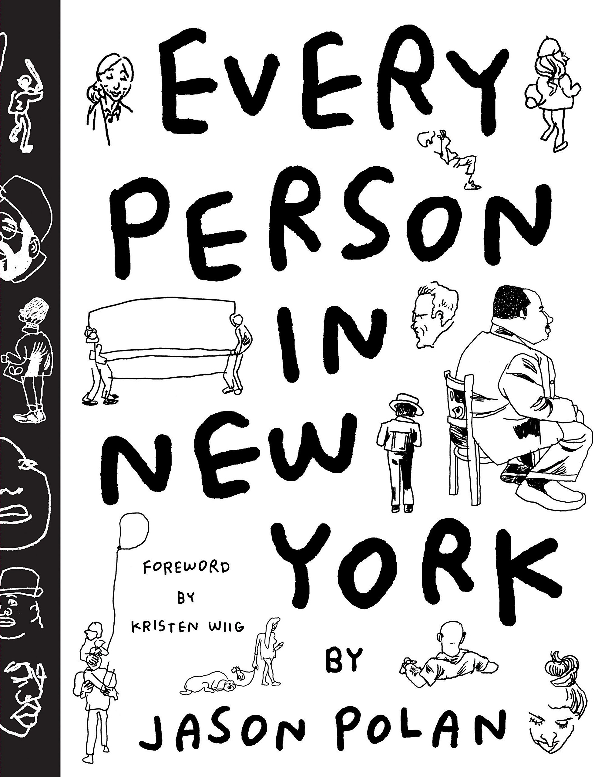 2005x2560 1 Every Person In New York Jason Polan, Kristen Wiig