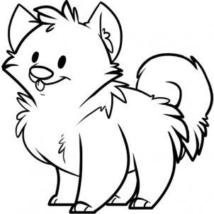 302x302 Coloring Pages Puppy Drawing Pictures Ny7 How To Draw A Simple