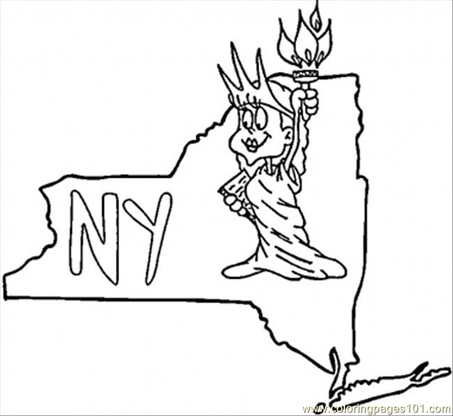 650x597 New York Giants Coloring Pages