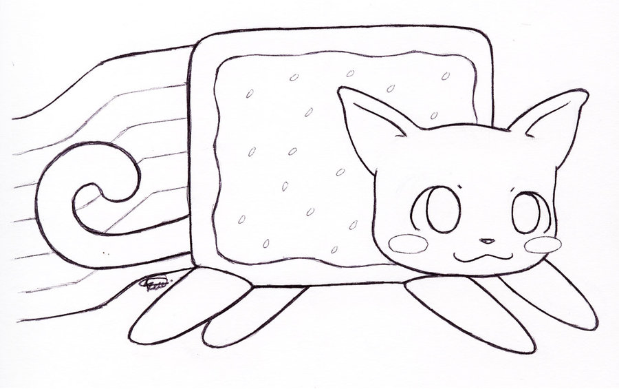 900x565 Nyan Cat 1430x1424 Coloring Pages