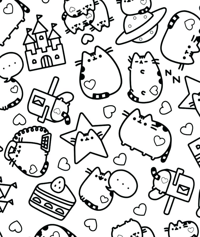 Nyan Cat Drawing At Getdrawingscom Free For Personal Use Nyan Cat - Coloring-pages-of-nyan-cat