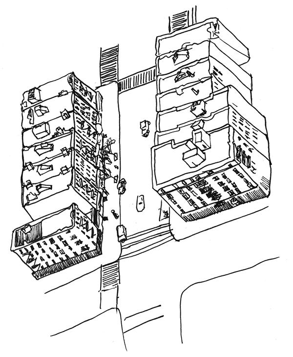 600x730 Nyc Building Drawings On Risd Portfolios