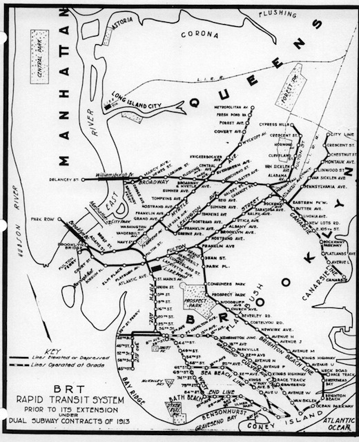 520x640 Weekly Map Time Travel With Vintage Nyc Subway Maps Amp The Second