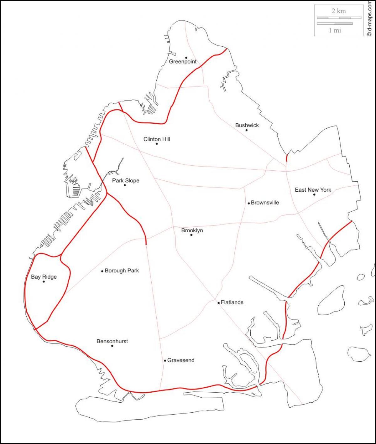 1200x1418 Map Of Bay Ridge Brooklyn