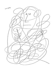 232x300 Squiggly Line Drawings Fine Art America