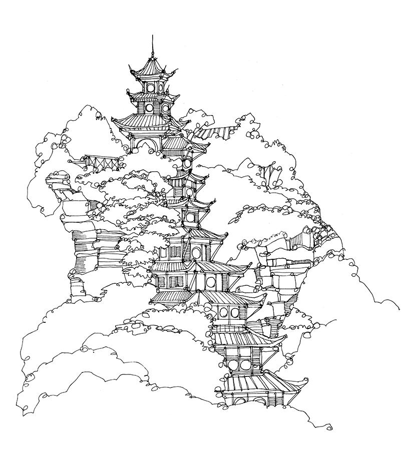 827x945 Blog City Illustration