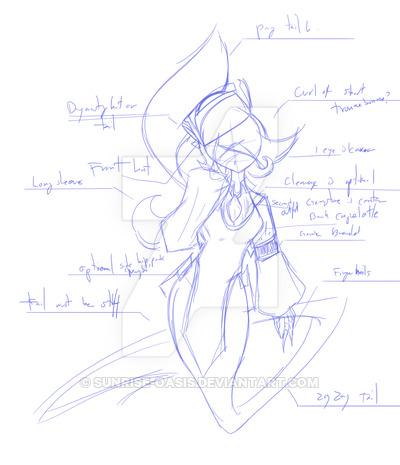 400x465 Jiang Shi Djinn Concept Sketch By Sunrise Oasis
