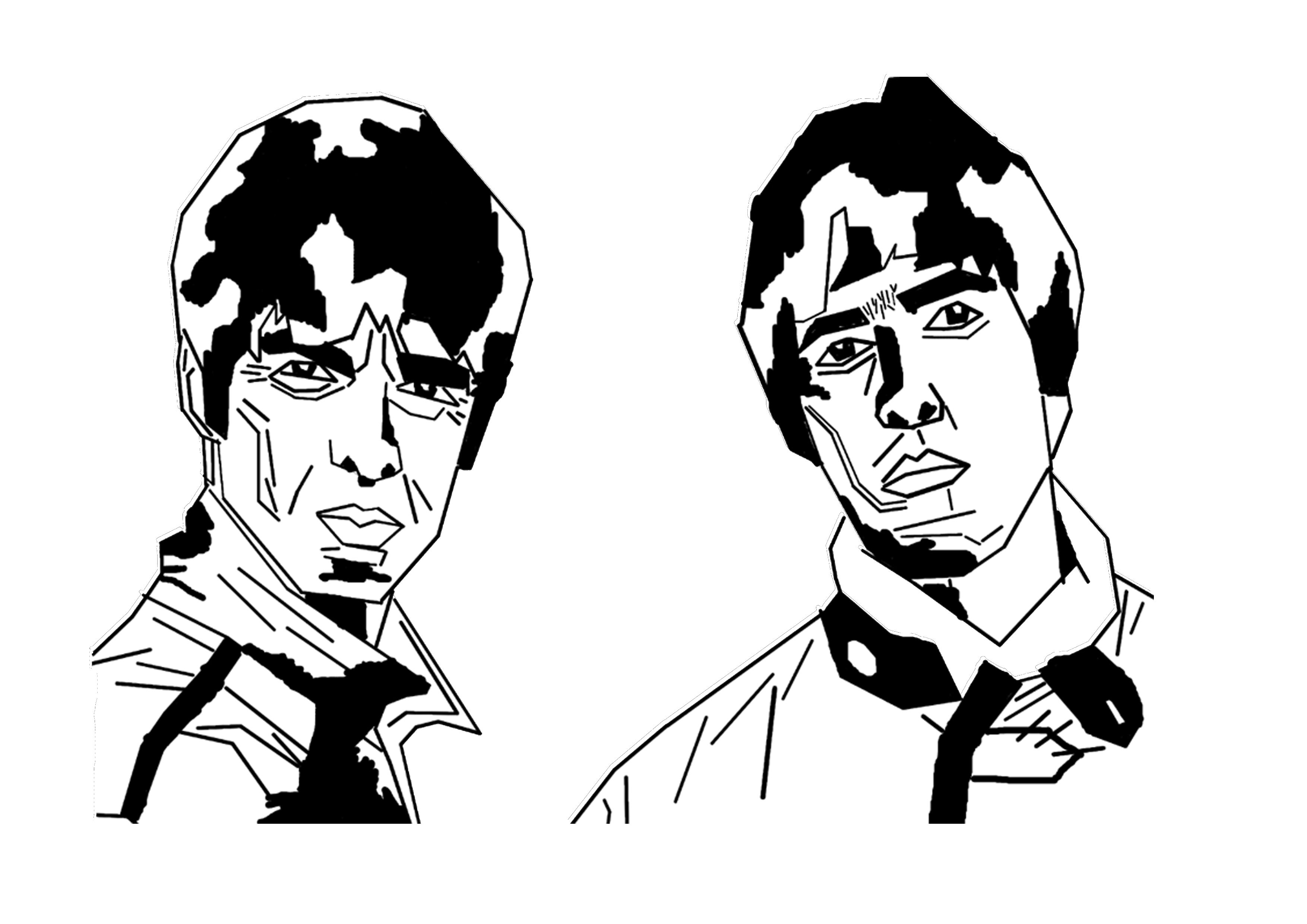3508x2480 Noel And Liam Gallagher From 1990s Brit Pop Band Oasis A Line