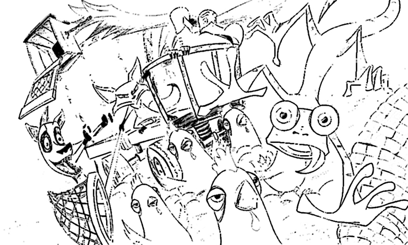 800x480 Oasis Coloring Pages