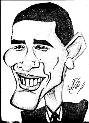 290x400 Sketches And Calligraphy Through My Pencil! Barack Obama'S