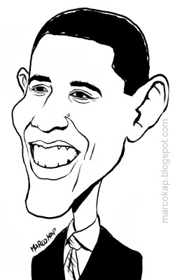 250x400 Caricatures By Marco Kap Caricatura Obama Dibujos Y