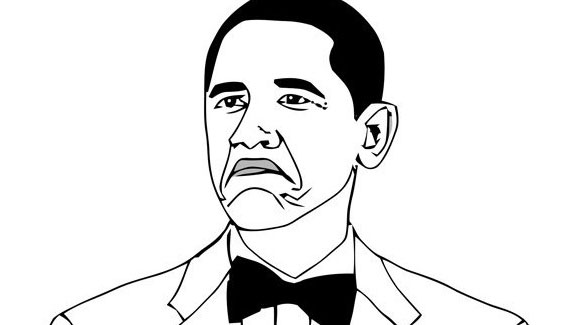 578x325 Obama Rage Face Not Bad Know Your Meme
