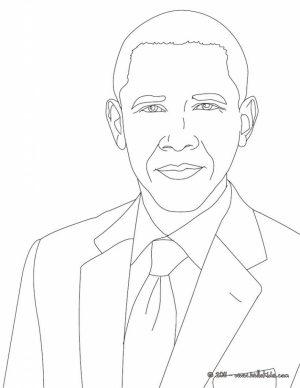 300x388 Barack Obama Coloring Pages