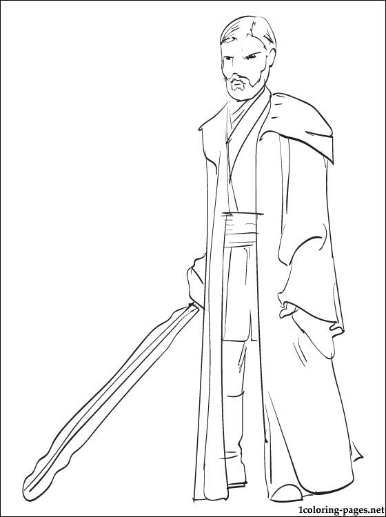 Obi Wan Kenobi Drawing at GetDrawings Free for