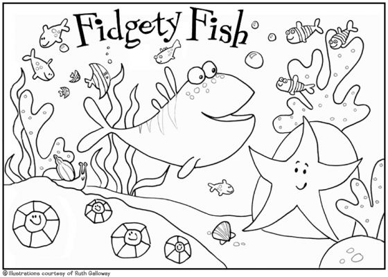 560x400 Underwater Coloring Pages