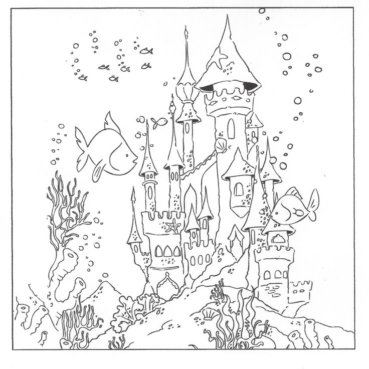 736x736 Delivered Underwater Coloring Pages 4825