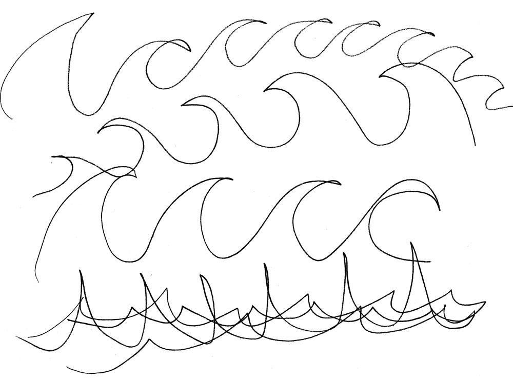 1000x743 Ocean Wave Sketch Ocean Waves Audio Wave Ocean