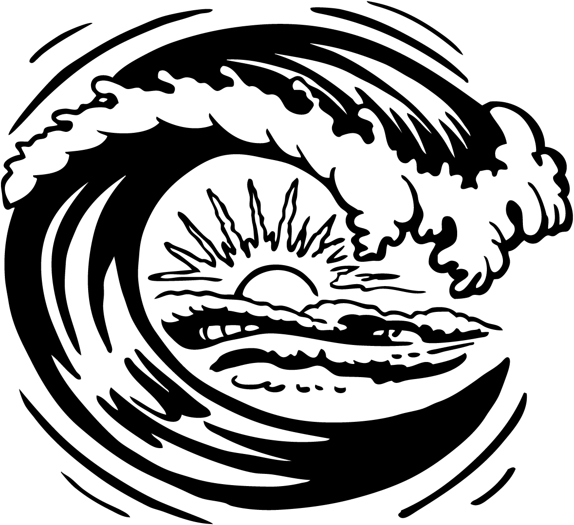 ocean waves coloring pages - Ideal.vistalist.co