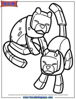250x323 Minecraft Ocelot Coloring Pages